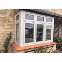 China Horizontal Open French Casement Windows with Aluminium Alloy Frame on sale