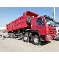Wholesale SINOTRUK HOWO 8 X 4 12 Wheel Heavy Duty Dump Truck 371HP 55 Tons Loading from china suppliers