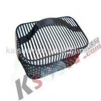 Wholesale Black & White Stripe Makeup Cases from china suppliers