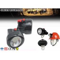 Wholesale IP68 1W Rechargeable LED Headlamp 2.8Ah Battery 4000 Lux Brightness from china suppliers