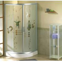 Wholesale Hotel Bathroom Shower Enclosures Glass, 6mm 8mm 10mm Frost Tempered Glass from china suppliers