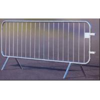 Wholesale 18 Bar Crowd Control Barriers For Belgium 35 mm pipes with a 1.50mm thick finished by fully hot dipped galvanized from china suppliers