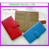 Wholesale Customized Wallet card holder, card to wallet, leather card holder, card case wallet from china suppliers