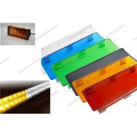 Wholesale 3 Inch / 6 Inch Automotive Lighting Accessories Colorful Outside Led Light Bar Cover from china suppliers