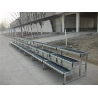 Wholesale Folding 6061 Aluminum Choir Stage , Anti - Slip Stage Seated Choral Risers from china suppliers