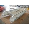 Buy cheap 390cm Semi - Rigid Inflatable RIB Boats Fiberglass Hull Light Grey Color from wholesalers