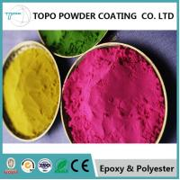 Rebar Steel Epoxy Powder Coat Paint , RAL 1004 Powder Coating Corrosion Resistance