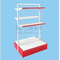 Wholesale OEM 3 Tier Corner Double - Side Metallic Supermaket Shelf from china suppliers