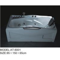 Wholesale 85 x 150 X 65 / cm Air Bubble Bathtubs free standing ABS Material from china suppliers
