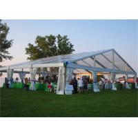 Wholesale Beautiful PVC Coated Fabric Clear Roof Tent Outdoor Party Use With Decorations from china suppliers