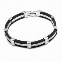 Wholesale 316L Stainless Steel Bracelet, Available in Various Styles from china suppliers