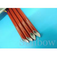 Buy cheap Silicone Fiberglass Braided Sleeving Silicone Fiberglass Sleeving from wholesalers
