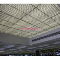 Stable Attractive Ceiling Panel Grid 100x100mm For Restaurant Interior Decoration