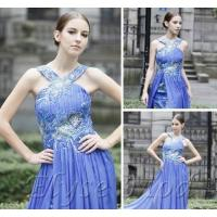 Wholesale ELYSEMOD Trumpet/Mermad Strapless Floor Length Print Flower Quick Delivery Prom Dresses from china suppliers