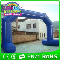 Wholesale QinDa inflatables rainbow door inflatable advertising door inflatables arch from china suppliers