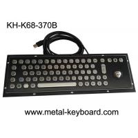 Wholesale Compact Win10 Black Stainless Steel Computer  Keyboard with Trackball from china suppliers