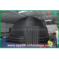 Wholesale 6m Black Oxford Cloth Inflatable Planetarium Dome Portable Tent for School from china suppliers