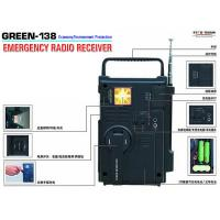 Wholesale Emergency Radio Receiver  Green 138 from china suppliers