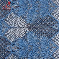 Wholesale Embroidered Voile Lace Fabric For Wedding Dresses Cricking Color Fastness from china suppliers