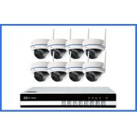 Wholesale Indoor Dome Wireless Ip CCTV Camera Kits 8PCS For Home / Store Onvif from china suppliers