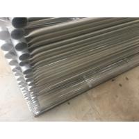 Wholesale Hot Dipped Galvanized Temporary Fence Movable Fence Panels OD 32 Pipes from china suppliers
