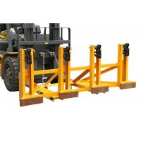 Wholesale Black Eager - Gripper Forklift Drum Lifter with Adjusting Height , Bandage Type from china suppliers