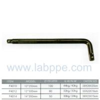 "Wholesale F4010-Electrophoresis curved rod L HANDLE 1/2"" X 10""CRV L Type Wrench Handle rod Embossed from china suppliers"