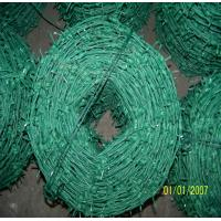 Wholesale BWG12*14 PVC Coated Galvanized High Tensile Barbed Wire Used For Fencing from china suppliers