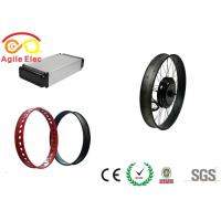 Wholesale Battery Powered Electric Bike Converter Kit 45KM / H Max Speed from china suppliers