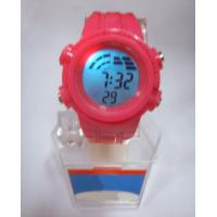 Wholesale Fresh Color Digital Silicon Band Sport Stopwatch / Wrist Watches from china suppliers