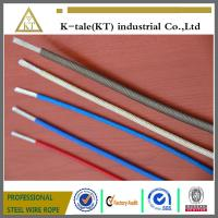 Wholesale Top quality Color PVC/Nylon/TPU/PE 7x7 coated  Steel Wire cable china factory from china suppliers