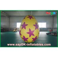 Wholesale 6m Inflatable Holiday Decorations Pvc Easter Egg for Advertising / Party from china suppliers