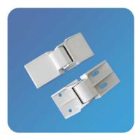 Wholesale Custom Adjustable Plastic Nylon White Swinging Bifold Freezer Door Hinges With OEM from china suppliers