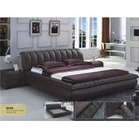 Wholesale leather bed, living room home furniture,KD furniture from china suppliers