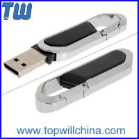 Wholesale Twisting Plastic Carabiner 8GB 16GB 32GB Pen Thumbdrive Flashdrive with Free Logo Printing from china suppliers