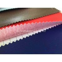 Wholesale Faux Upholstery Home Textile Synthetic PVC / PU Artificial Leather For Living Room from china suppliers