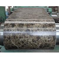 Wholesale Marble Grain PVC Film Laminated Metal Sheet Pre - Painted For Office Door from china suppliers