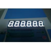 Quality Ultra bright white 6 digit 0.56 inch common cathode 7 segment LED display for sale