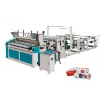 Buy cheap Automatic Toilet Paper Roll and bathroom Roll Paper Making Machine from wholesalers