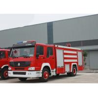 Wholesale 4X2 LHD Fire Fighting Truck SINOTRUK HOWO 10CBM 290HP for Sprinkling from china suppliers