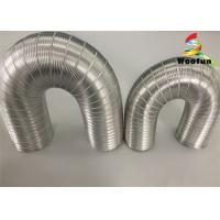 Quality Ventilation System Aluminum Air Duct Flexible Air Intake Hose 3 Inch Compressible for sale