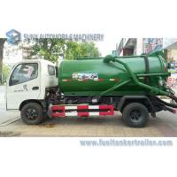 Wholesale Foton 8CBM 8000L 8M3 Vacuum Tank Truck Cummins 140hp , 4x2 Sewage Suction Truck from china suppliers