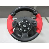 Quality video game steering/ racing wheel with foot pedal for PC, X-INPUT, PS2, PS3 for sale