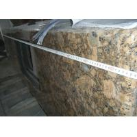 Quality Baltic Gold Granite Stone Slab Countertop Solid Surface Vanity Tops For Bathroom for sale