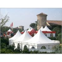 Wholesale High Peak PVC Party Tent Shelter White Gazebo Canopy 80 km / h Wind Load from china suppliers