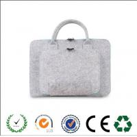 Wholesale Promotional Functional zipper closure felt laptop bag  from china factory from china suppliers
