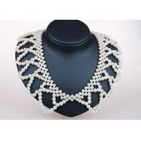 Wholesale Unique Handcrafted Pearl Jewelry Designs , Detachable Collar Fashion Jewelry Necklaces from china suppliers