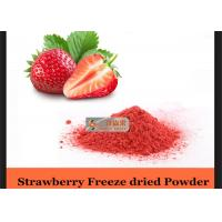Wholesale Nutritious Dried Strawberry Natural Pigment Powder Inspection Standard from china suppliers