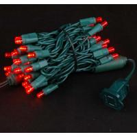 Wholesale 50ct Red Led 5mm Wide Angle Christmas String Lights from china suppliers