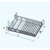 Wholesale OEM Supermarket Straight Showcase Wiremesh Layer Board Countertop Display Rack from china suppliers